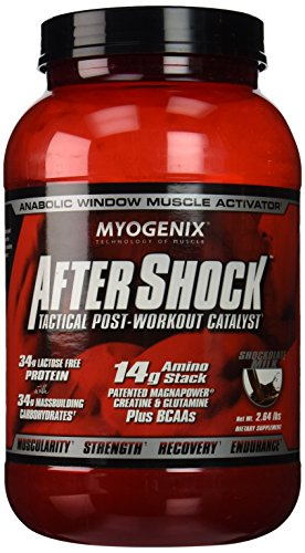 Myogenix Aftershock Shockolate Milk Protein Powder, 2.64 Pound