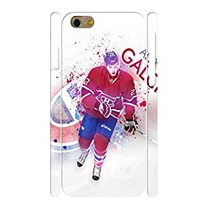 Fancy Personalized Phone Accessories Print Hockey Player Pattern Skin for Iphone 6 Case - 4.7 Inch