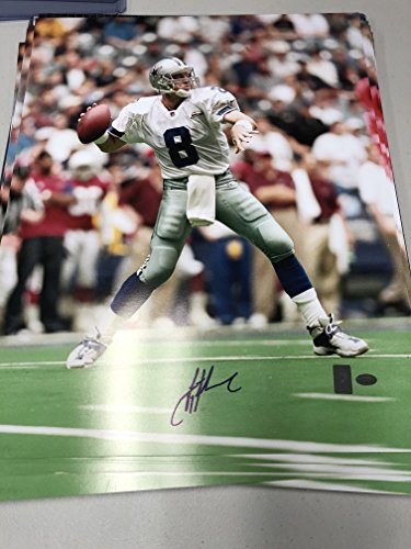 Troy Aikman Autographed Signed Cowboys 16x20 Photo GTSM Aikman Personal (Autographed Dallas Cowboys 16x20 Photo)