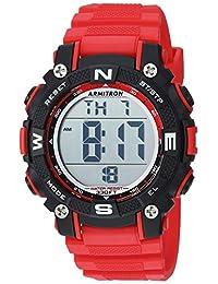43ed04d97bb0 Armitron Sport 45 7099 - Reloj de brazalete digital con cronógrafo y correa  de resina