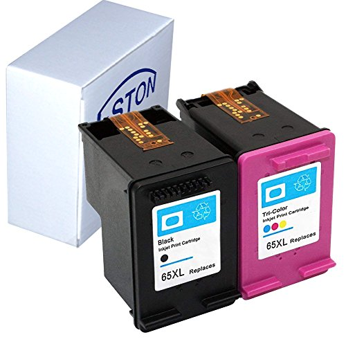 ESTON Re-manufactured Ink Cartridge Replacement for HP 65XL