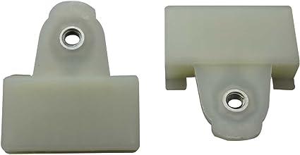 Window Regulator Sash Connectors 8 piece set for Pontiac Alero Grand Am