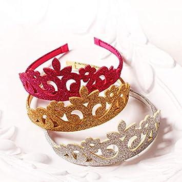 9f2e90709e Amazon.com : Princess Crown Headband Crown 15pcs/lot Princess Crown ...