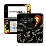 #9: Ci-Yu-Online Pokemon Charizard Black Limited Edition VINYL SKIN STICKER DECAL COVER for Nintendo 3DS XL / LL Console System
