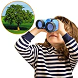 Yimosecoxiang Hot Funny Children's Toys Portable Kids Binoculars Outdoor Bird Watching Star Gazing Birthday Gift Toy Random Color