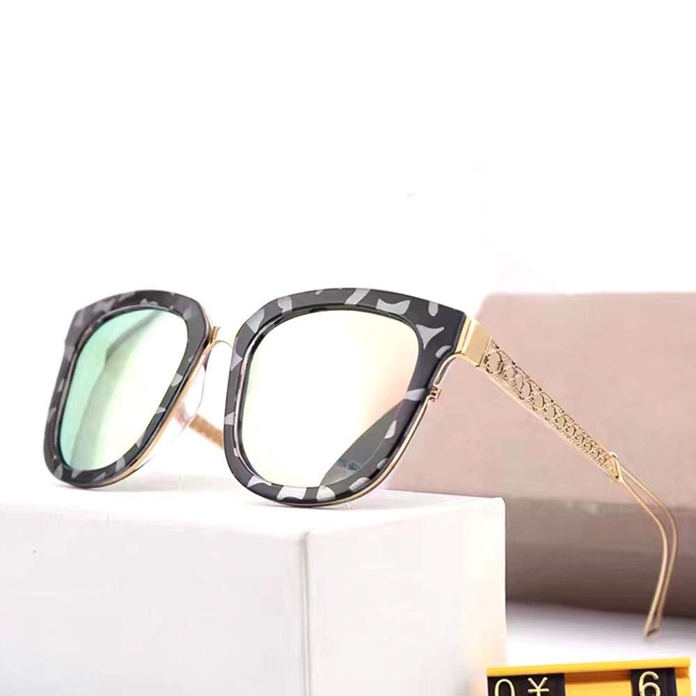 gold Saalising Women's Classic Square Polarized Sunglasses, UV400 Predection (color   Black Grey)