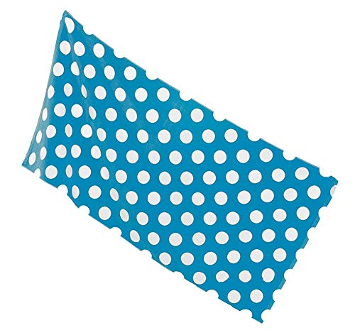 Aqua Blue Pools - byLora Polka Dot Terry Cotton Beach Cover Up Towel for Beach, spa and Swimming Pool Towel, Aqua Blue