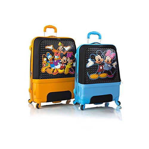 """Price comparison product image Heys Disney Clubhouse Hybrid Spinner Luggage Set for Kids 2 Pcs - 30"""""""