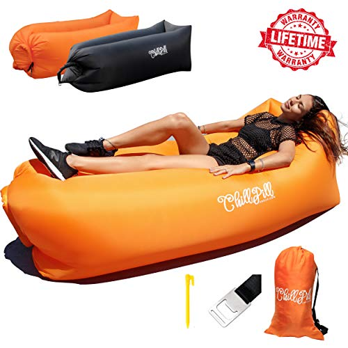 Lovely Inflatable Lounger Portable Hammock Air Sofa And Camping Chair Ideal Inflatable Couch Chair Blow Up Seat For Picnics & Festivals Baby Seats & Sofa Mother & Kids