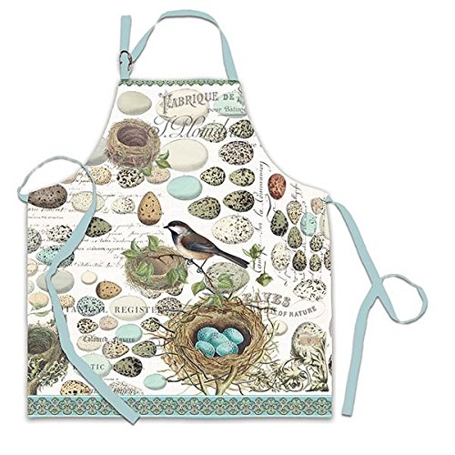 Michel Design Works Cotton Chef Apron, Nest & Eggs