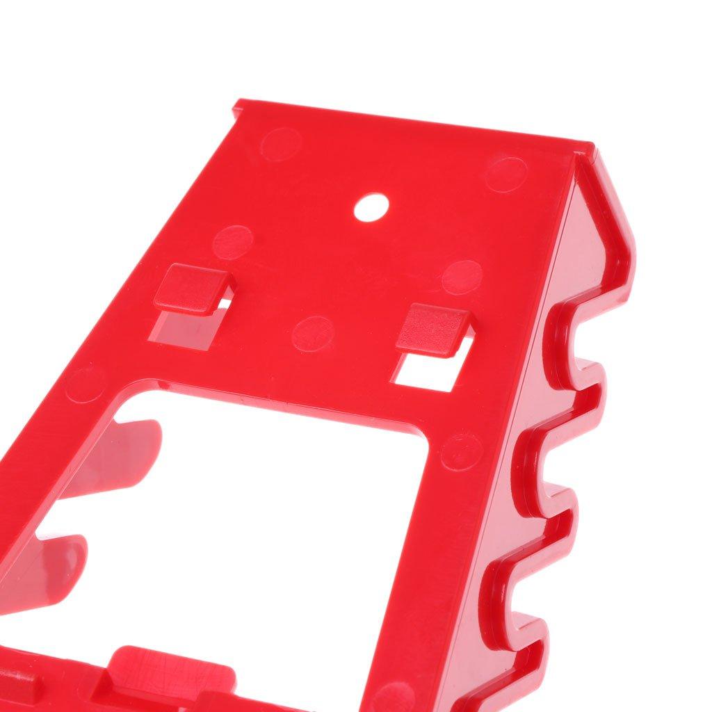 TShopm Schraubenschl/üssel-Halter aus Kunststoff mit Ablage und Schraubenschl/üssel