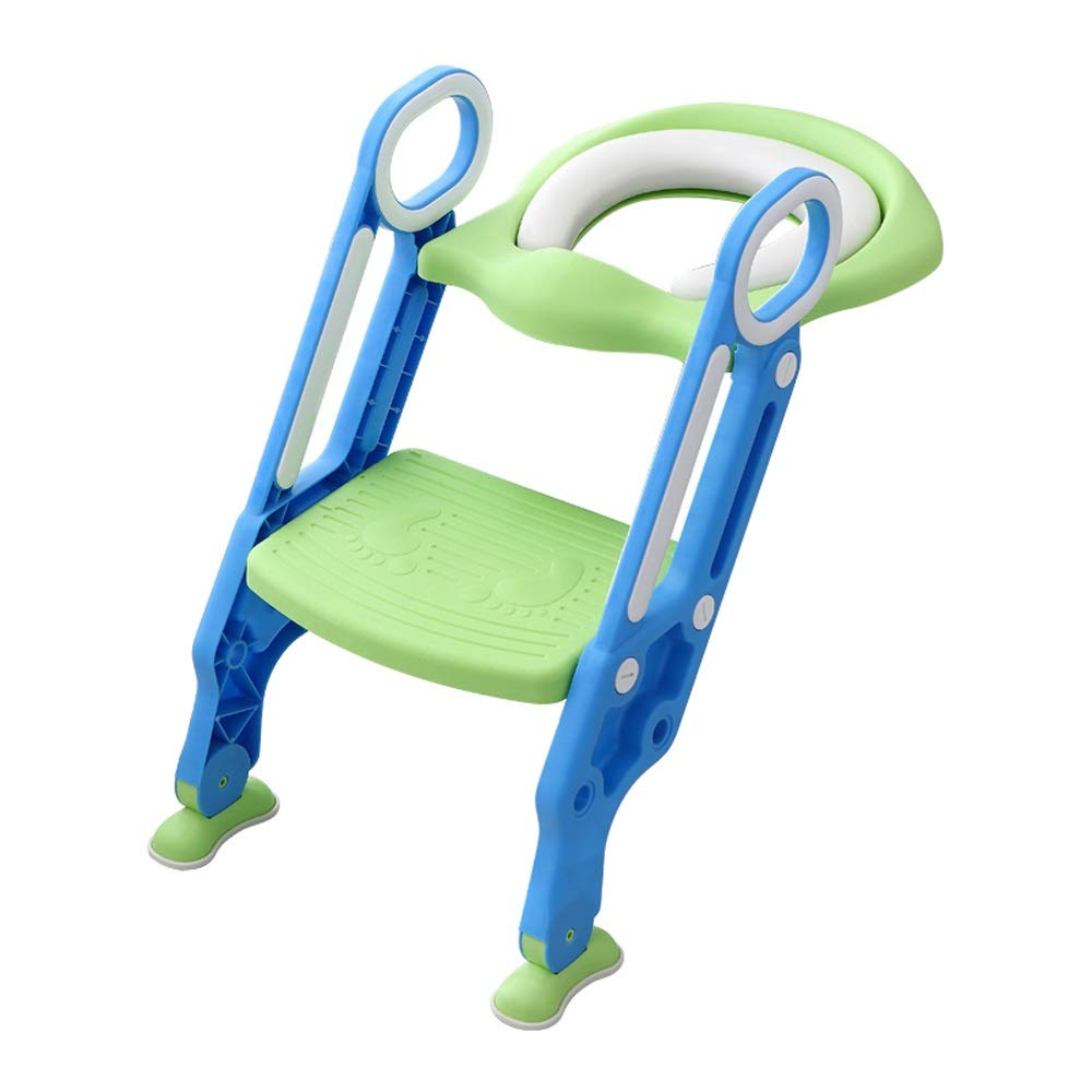 Byx- Children's Toilet Ladder Toilet Seat Female Baby Child Boy Toilet Toilet Seat Cover Baby Seat Washer Stair -Toilet Seats for Toddlers