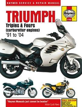 Triumph Trophy 900 1200 Repair Manual Haynes Service Workshop