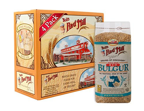 Cracked Wheat Bread Mix - Bob's Red Mill Red Bulgur, 28 Oz (4 Pack)