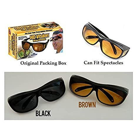 e5be21044c0 Buy Dtes Night Driving Glasses for Men Online at Low Prices in India -  Amazon.in