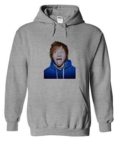 Ed Sheeran Felpa con Cappuccio Uomo: Amazon.it
