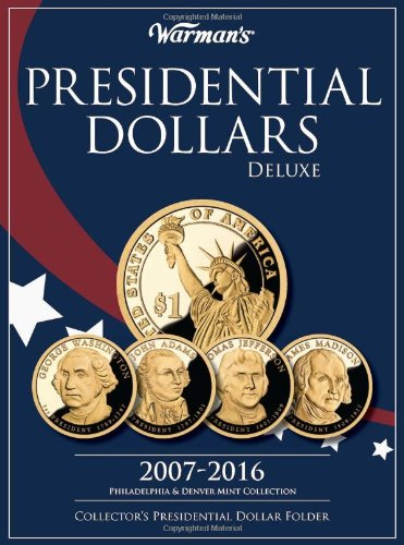 Coin Album For Presidential Dollars Collector Archive Folder 2012-2016 Whitman