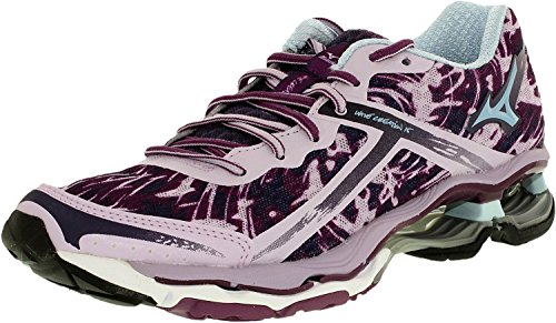 Mizuno Womens Wave Creation 15 Running Shoes Orchid/Purple 7.5 B M US