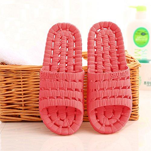 Il morbida donne maschio home antiscivolo con cool una cartoon Il indoor plastica rosso2 bagno soggiorno estate pantofole bagno pantofole coppie in DogHaccd pantofole 5PAwTqTC