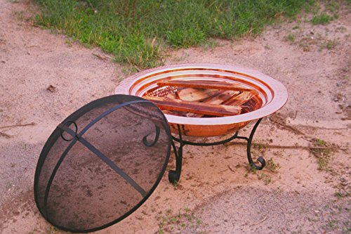 Unique Arts Solid Copper Firepit, 30