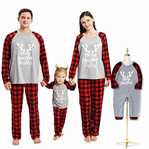Borlai Pijamas Navideños para Familias