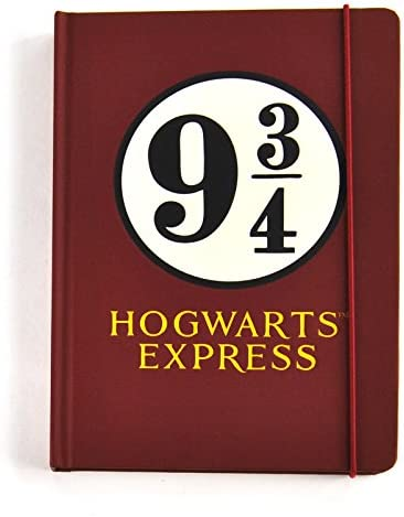 Harry Potter Notebook Hogwarts Platform 9 3/4 新しい 公式 レッド A5 hard
