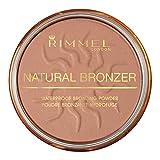Rimmel London Natural Bronzer Waterproof Bronzing Powder, Sun Bronze, 1-Count