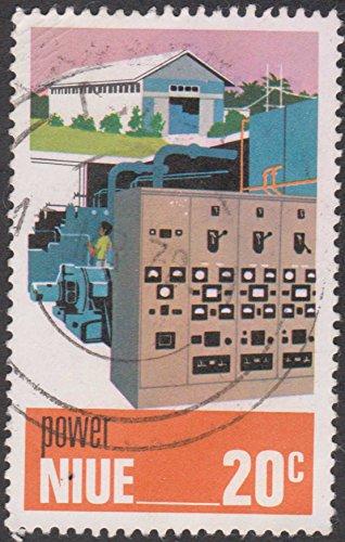 Power Plant Niue Postage Stamp