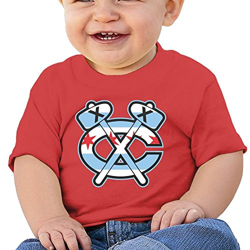 Price comparison product image Kim Lennon Axe Love Basketball Custom Boy Soft Tee Red Size 18 Months