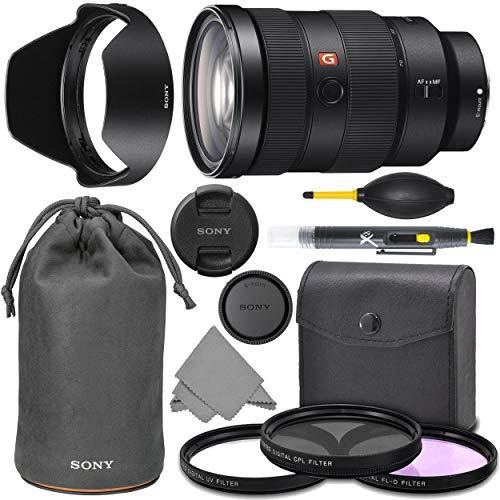 Sony FE 24-70mm f2.8 GM: Sony FE 24-70mm f/2.8 GM Lens G Master Series Pro Lens + AOM Pro Starter Bundle Kit - SEL2470GM - International Version