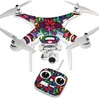 Skin For DJI Phantom 3 Standard – Stained Glass Window | MightySkins Protective, Durable, and Unique Vinyl Decal wrap cover | Easy To Apply, Remove, and Change Styles | Made in the USA