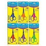 Bazic 4431-24 5 in. Pointed Tip School Scissors- Pack of 24