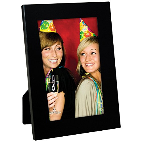 "Black 4"" x 6"" Picture Frame - Case of 12"