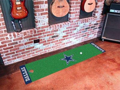 Dallas Cowboys Putting Green Mat Green (Mat Cowboys Runner)