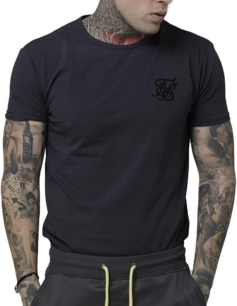 Sik Silk Camiseta Gym Gris M (Medium): Amazon.es: Ropa y accesorios