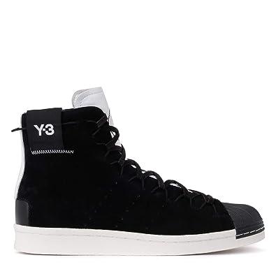 Y 3 Veloursleder Und High Super Adidas Sneaker Top Schwarzes fgyY6v7b