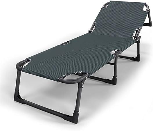 UCYG Cama Canapé Abatible Plegable para Invitados,Armadura De Metal Butaca Sofa 1 Plazas para Camping Piscina Jardín, 200 Kg De Carga, 192x63x30cm (Color : Green): Amazon.es: Hogar