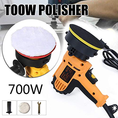 Tool Parts - Polishing Machine Car Polisher Electric 220v Input Power 700w Size 12.5cm Pad Industry - Direct Bins Organizer Parts Tray Case Tool Storage by Zonsky (Image #1)