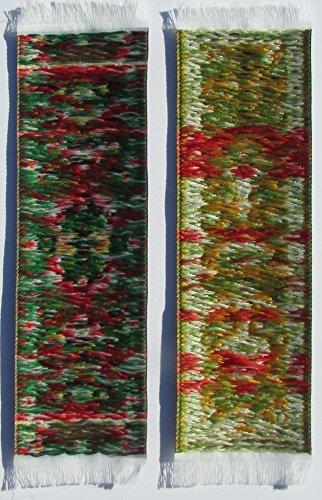 Oriental Carpet Bookmarks #1 - Authentic Woven Carpet (Set of 4) Photo #5