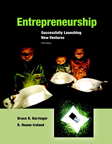 Entrepreneurship Successfully Launching New Ventures 5th Edition