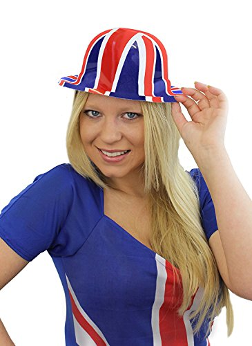 Union Jack Bowler Hats x 12 by Henbrandt ()