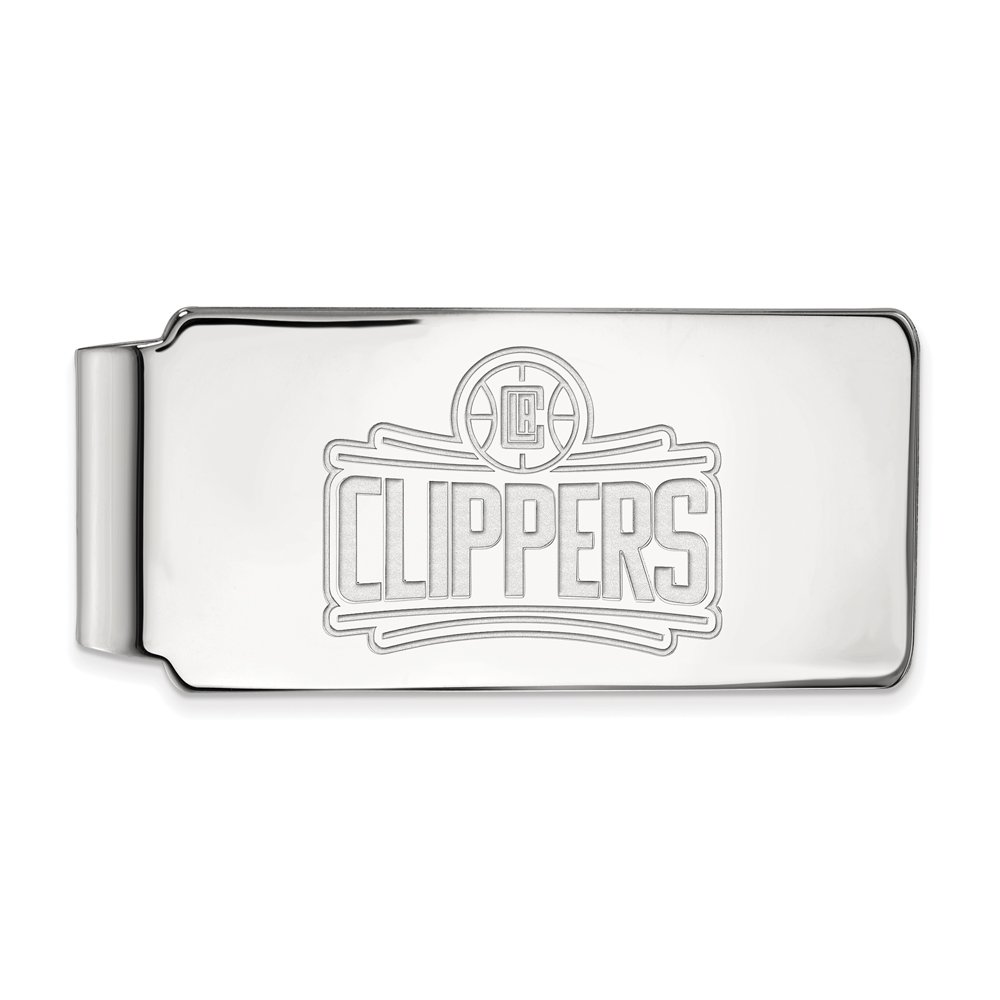 NBA Los Angeles Clippers Money Clip in Rhodium Plated Sterling Silver