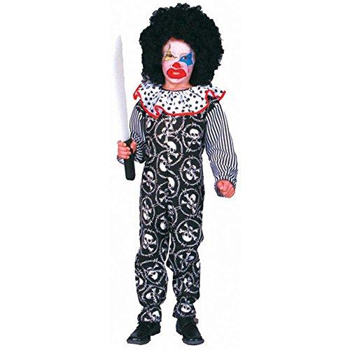 Kid's Scary Clown Halloween Costume (Medium (Scary Clown Halloween Costumes For Kids)