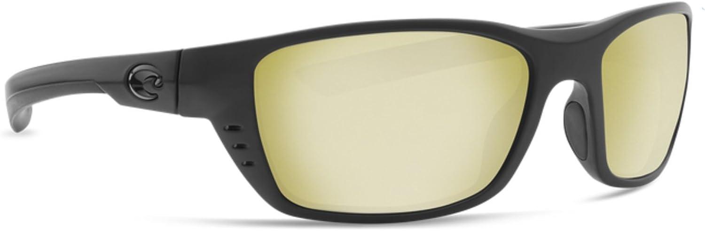 Costa Del Mar Men s Whitetip Rectangular Sunglasses