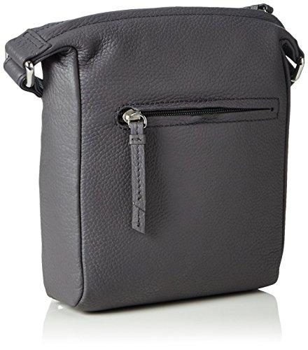 Top 969 Smoke Woman Handle 206969001 0 Gray Bree Bag Leather aS5Hq