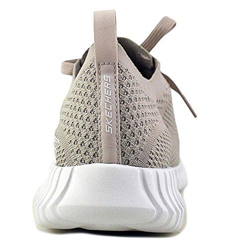 Skechers Mens Elit Flex Ibache Taupe Mode Sneakers 11d Oss