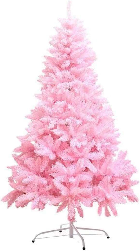 Árbol de Navidad Artificial Rosa,Adorno de árbol de navidad,Adornos de copo de nieve, paquete de 6,Bola navideña Adornos 18 pack,Se encuentra a 4 pies de altura,4ft