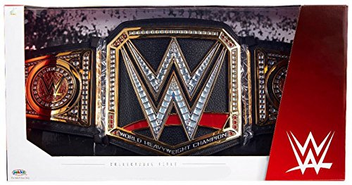 (WWE Wrestling Authentic Replica World Heavyweight Championship Championship Belt)