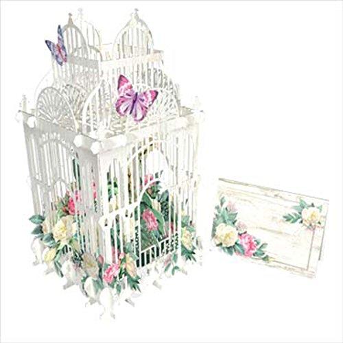 3D Pop Up Card - Flower Cage