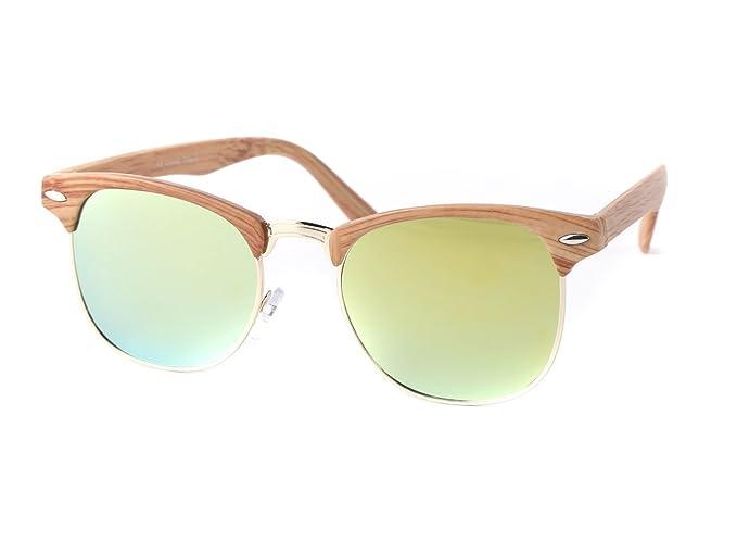 Sonnenbrille Clubstyle 60er Jahre Herren Vintage Halbrahmen von Alsino WjQir1E